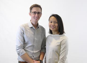Sebastian Kosch and Quincy Poon founded Plank Optimization to help medical schools to match residents with hospitals.