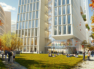 Schwartz Reisman Innovation Centre rendered by Weiss Manfredi